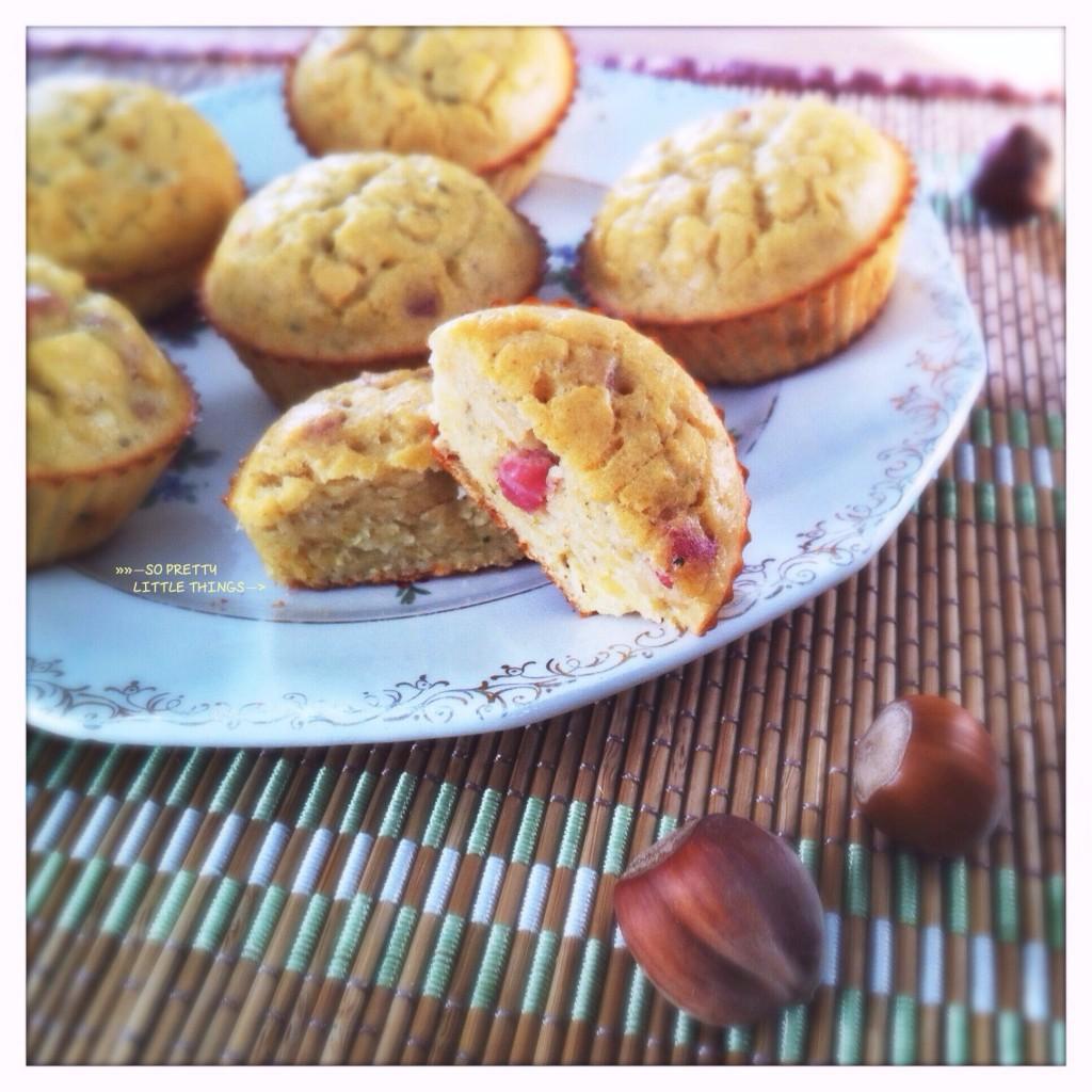 Muffins de lentilles corail