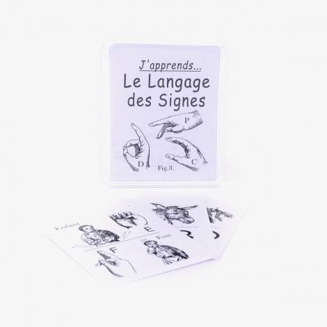 J'apprends le langage des signes