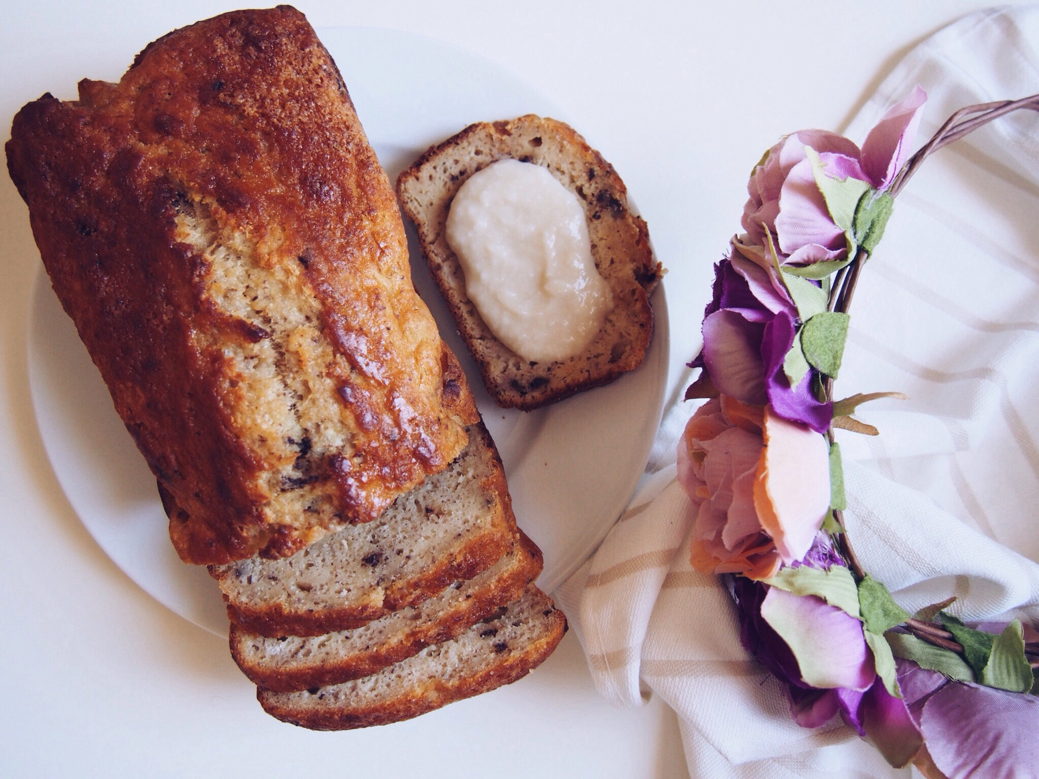 brunch_Green_healthy_muffins_banana bread_smoothie_glutenfree_sans gluten