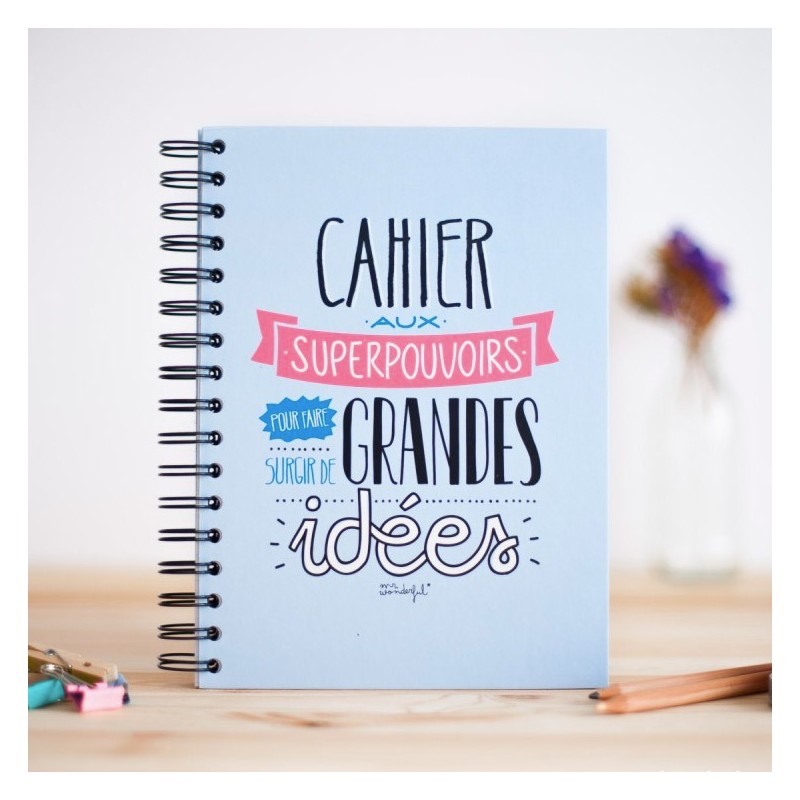 Cahier Mr Wonderful