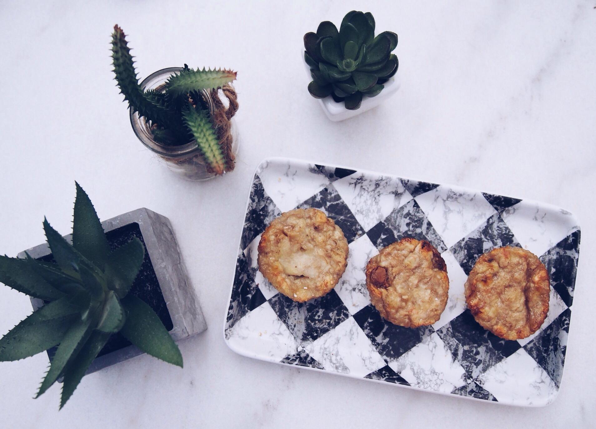 Muffins light à la banane (gluten free)