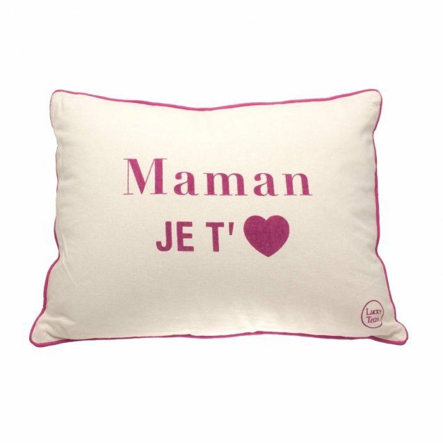 """Coussin """"Maman je t'<3"""""""