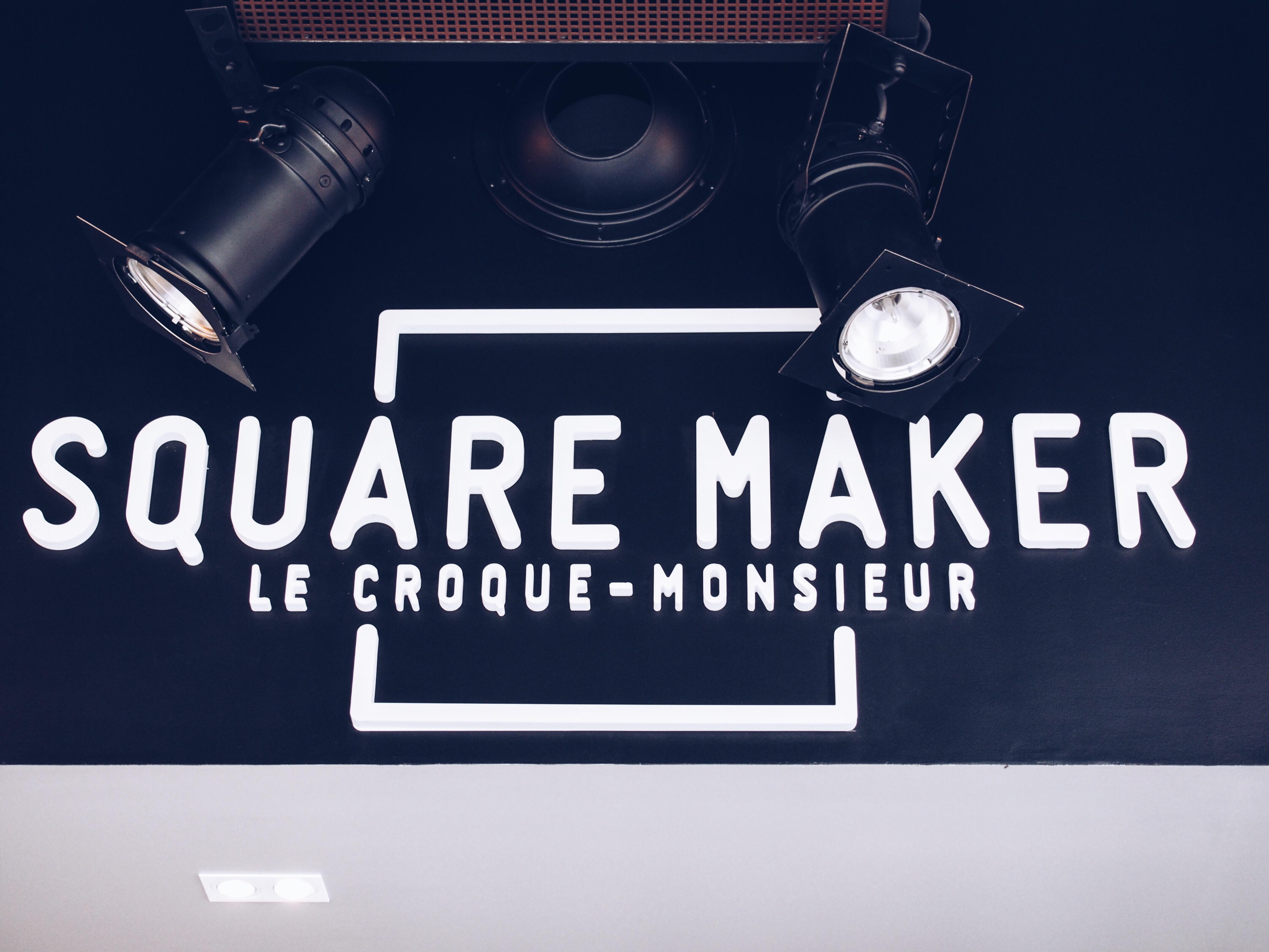 SquareMaker, les spécialistes du croque-monsieur à l'Avenue 83
