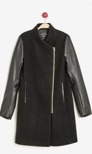 Manteau bi-matière Jennyfer