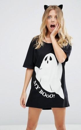 T-shirt phosporescent