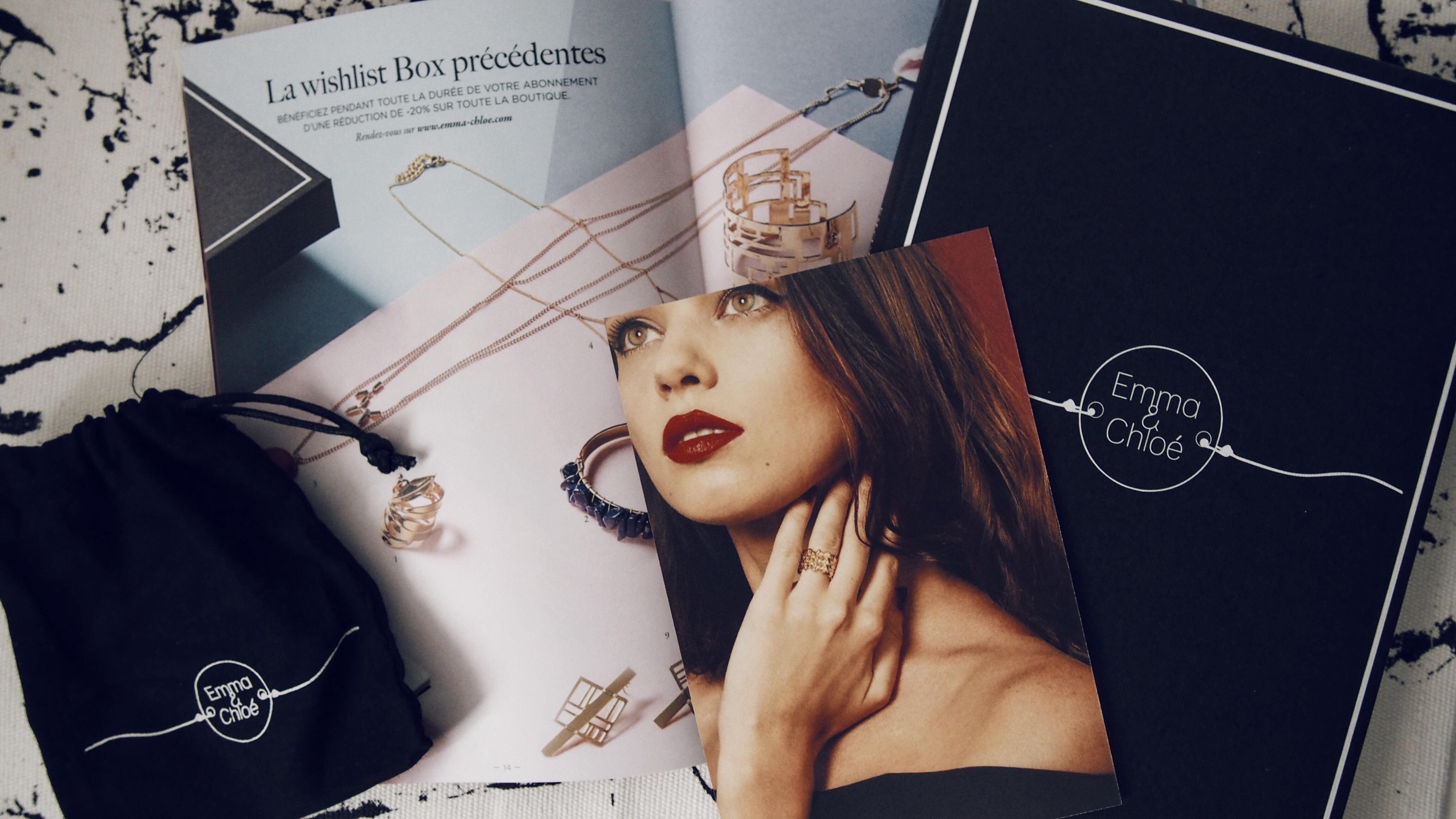 Emma & Chloé * La box pour les amoureux de bijoux (code promo)