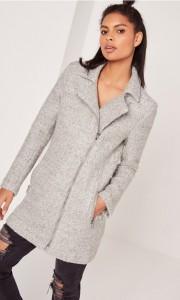 Manteau style laine