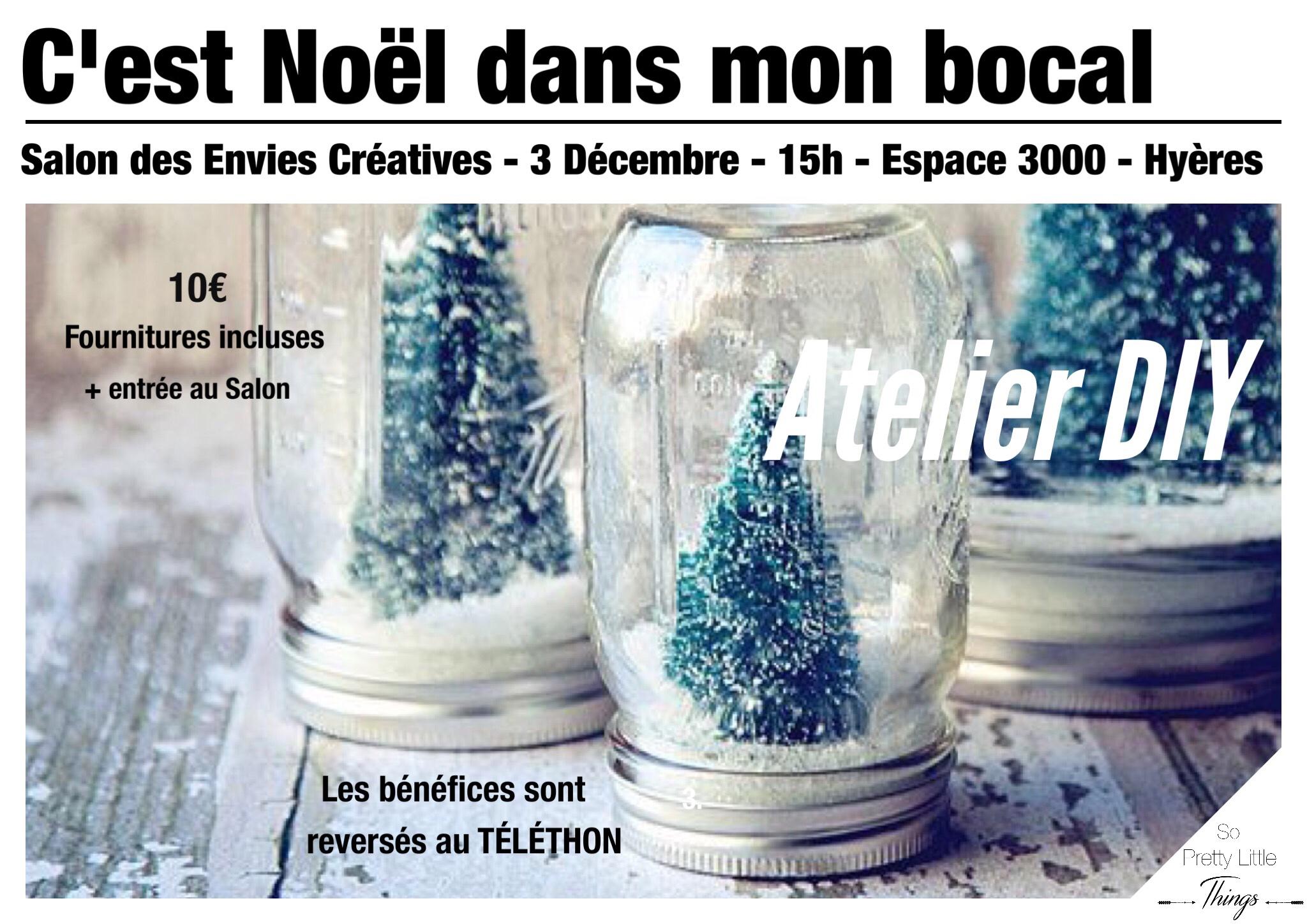 Salon des Envies Créatives – Atelier DIY spécial Noël (Concours)