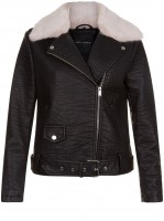 black-leather-look-faux-fur-trim-biker-jacket