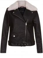 black-leather-look-faux-fur-trim-biker-jacket