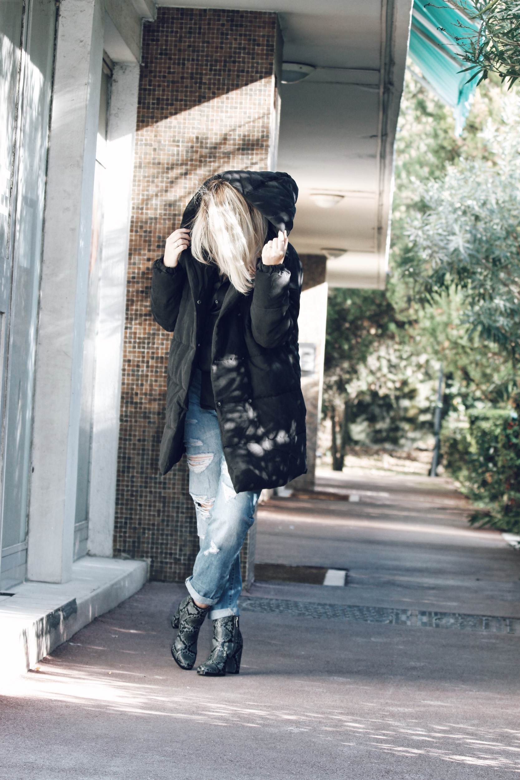 new-look-bottines-python-ootd-doudoune-jean-mom