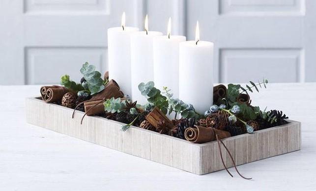Inspiration déco * Tables de Noël