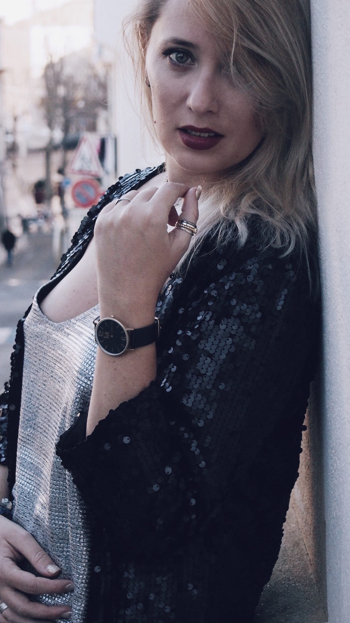 new-look-ootd-babou-sequin-silver-denim-ice-watch