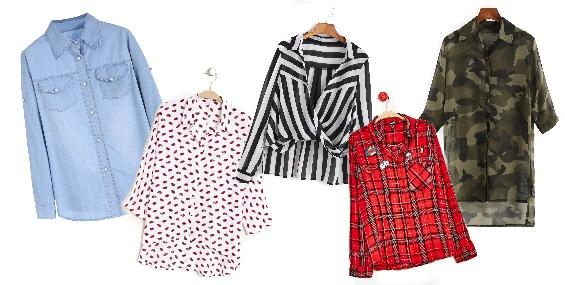 SOLDES * Sélection à petits prix de chemises et blouses