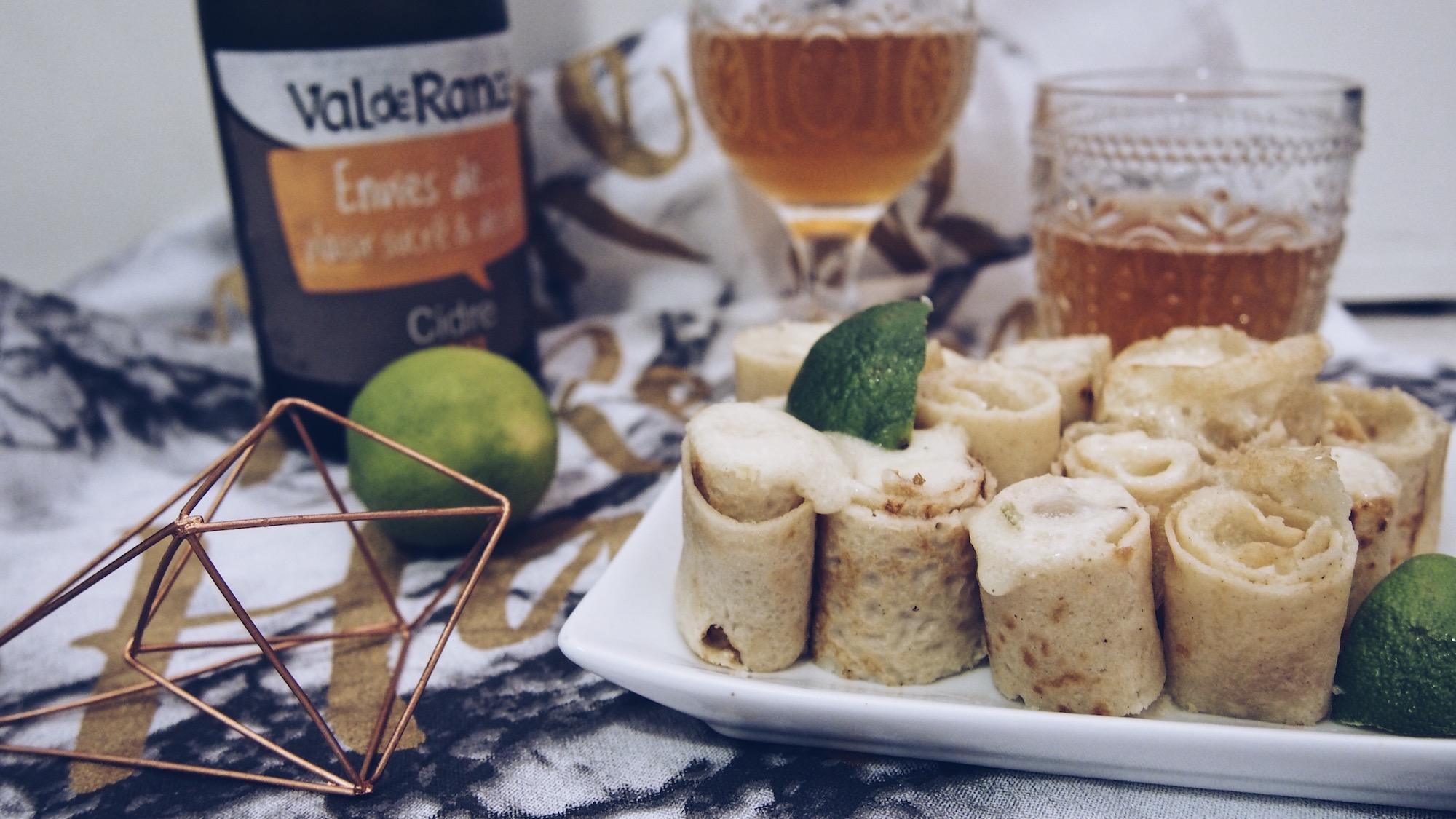 Une Chandeleur exotique (gluten & lactose free)