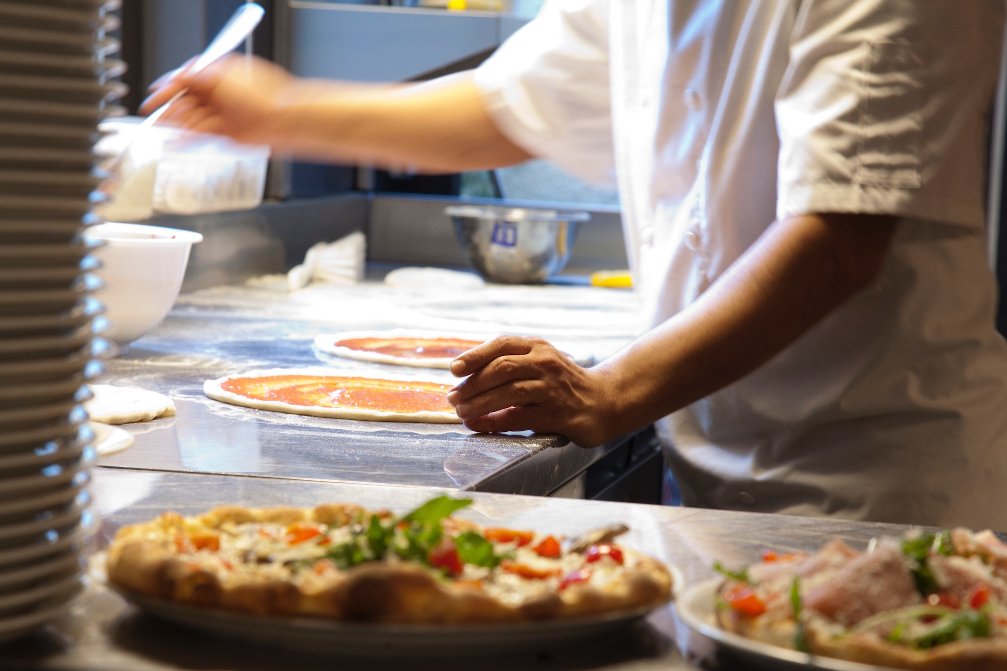 Pour de véritables pizzas italiennes, direction SCOTTA !