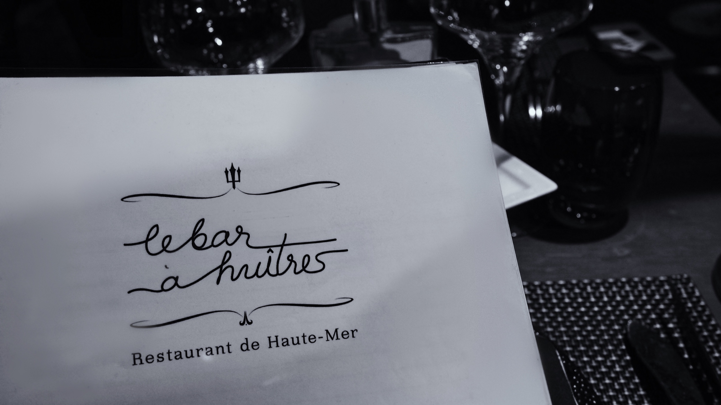 Le Bar à huîtres Montparnasse * Restaurant de Haute-Mer