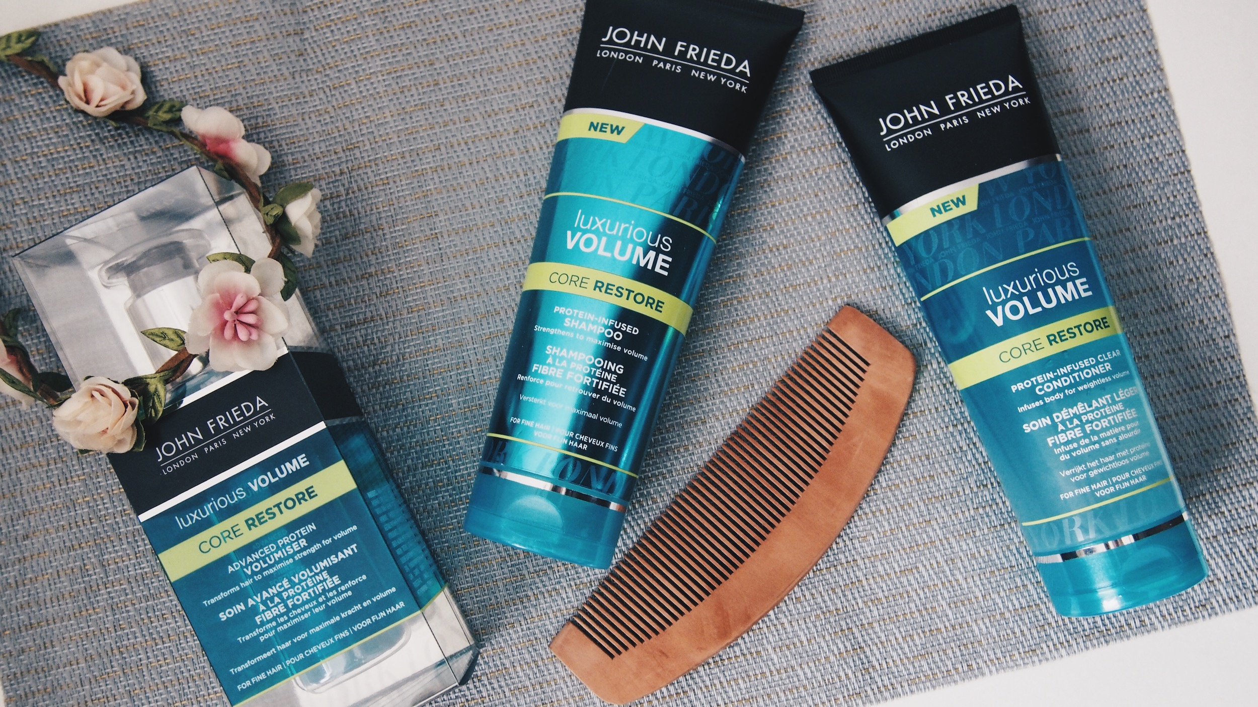 Du volume grace à John Frieda