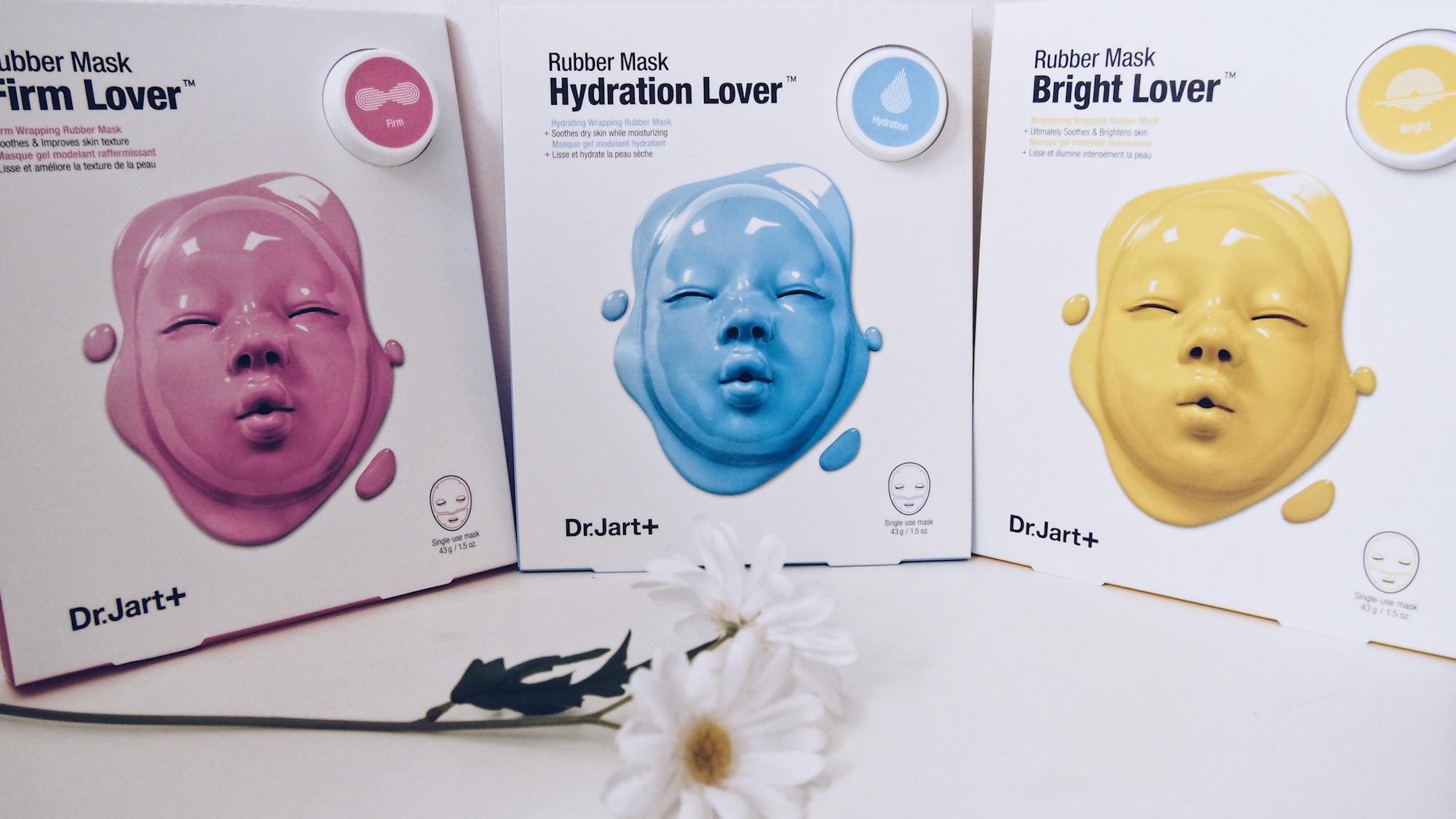 Les Rubber Masks de Dr.Jart +