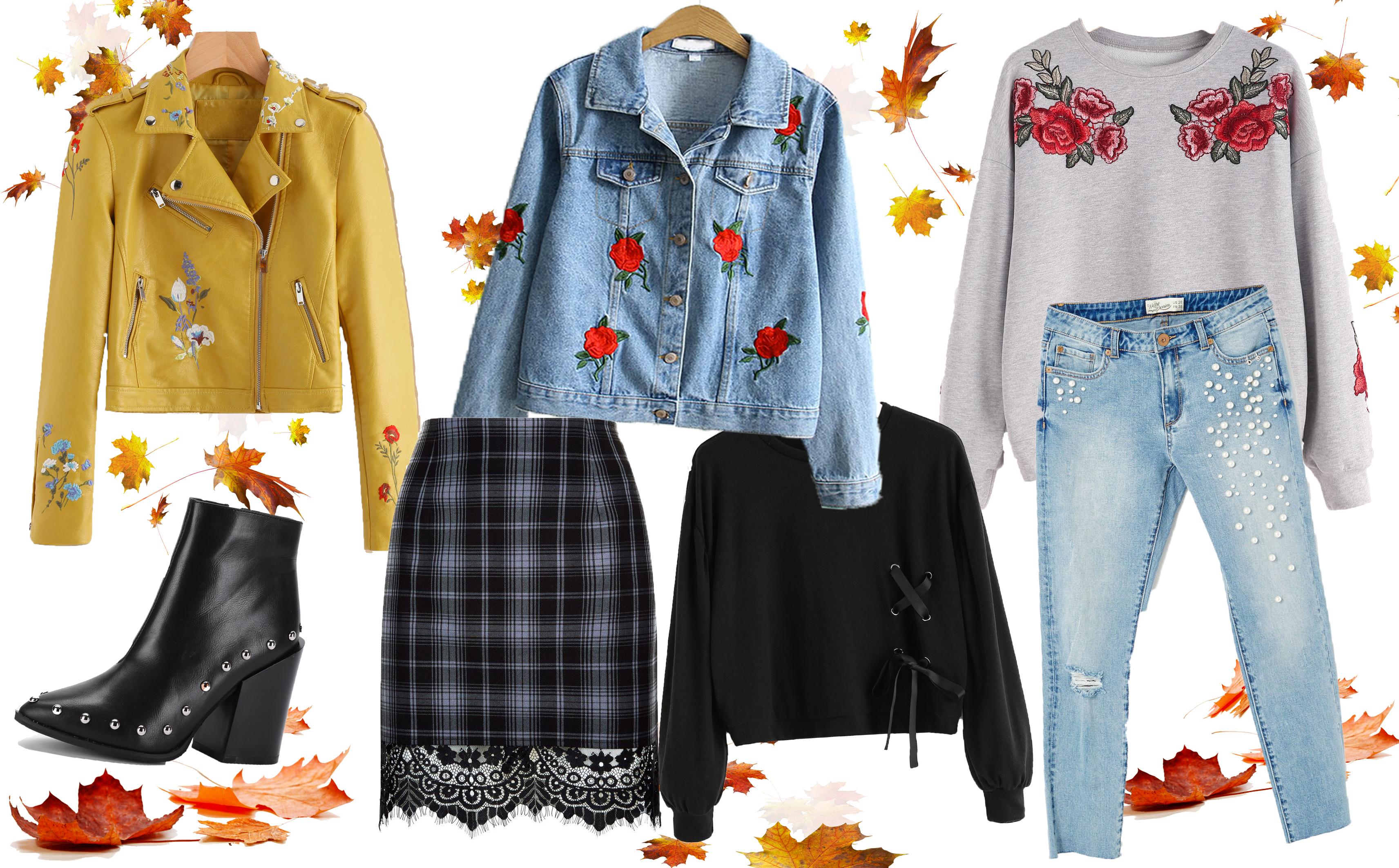 ** Sélection shopping ** Un air d'automne dans le dressing