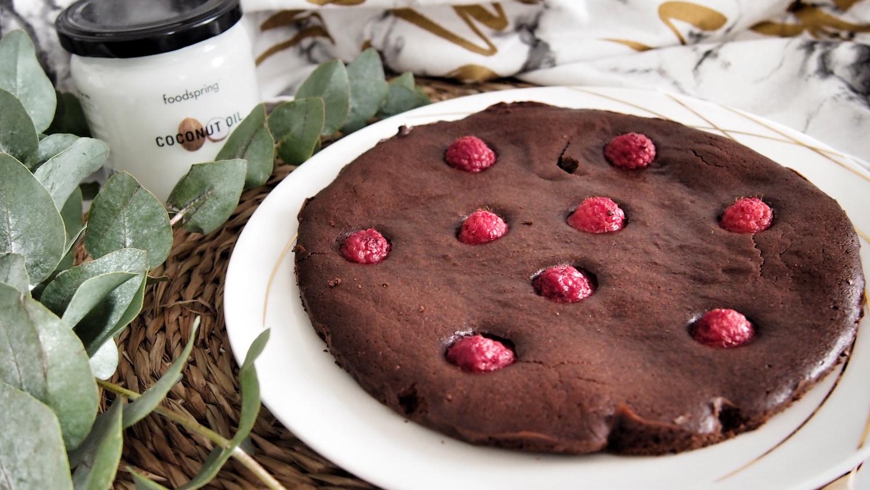 Gâteau au chocolat allégé * Gluten & lactose free