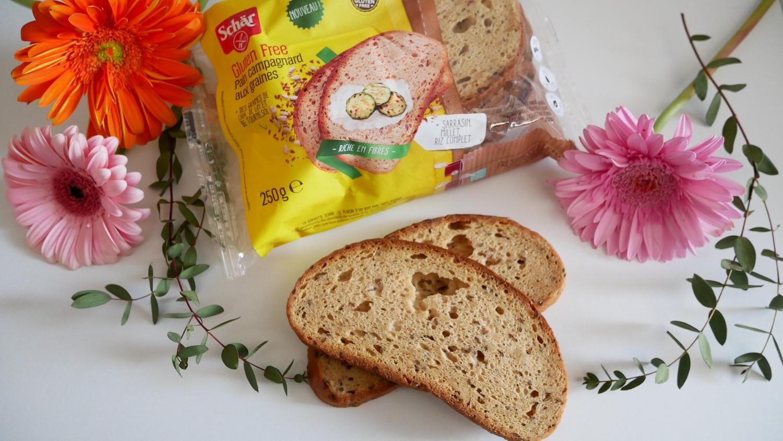 Nouveau pain campagnard aux graines Schär