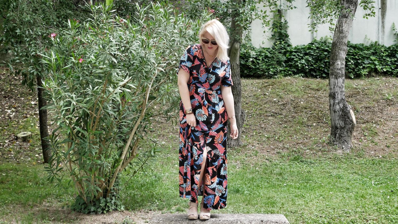 La robe longue néo-hippie