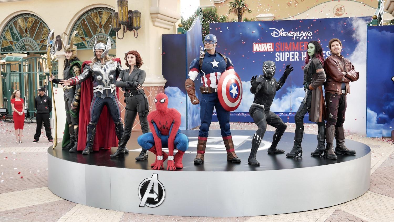 L'été des Super-Héros Marvel à Disneyland Paris