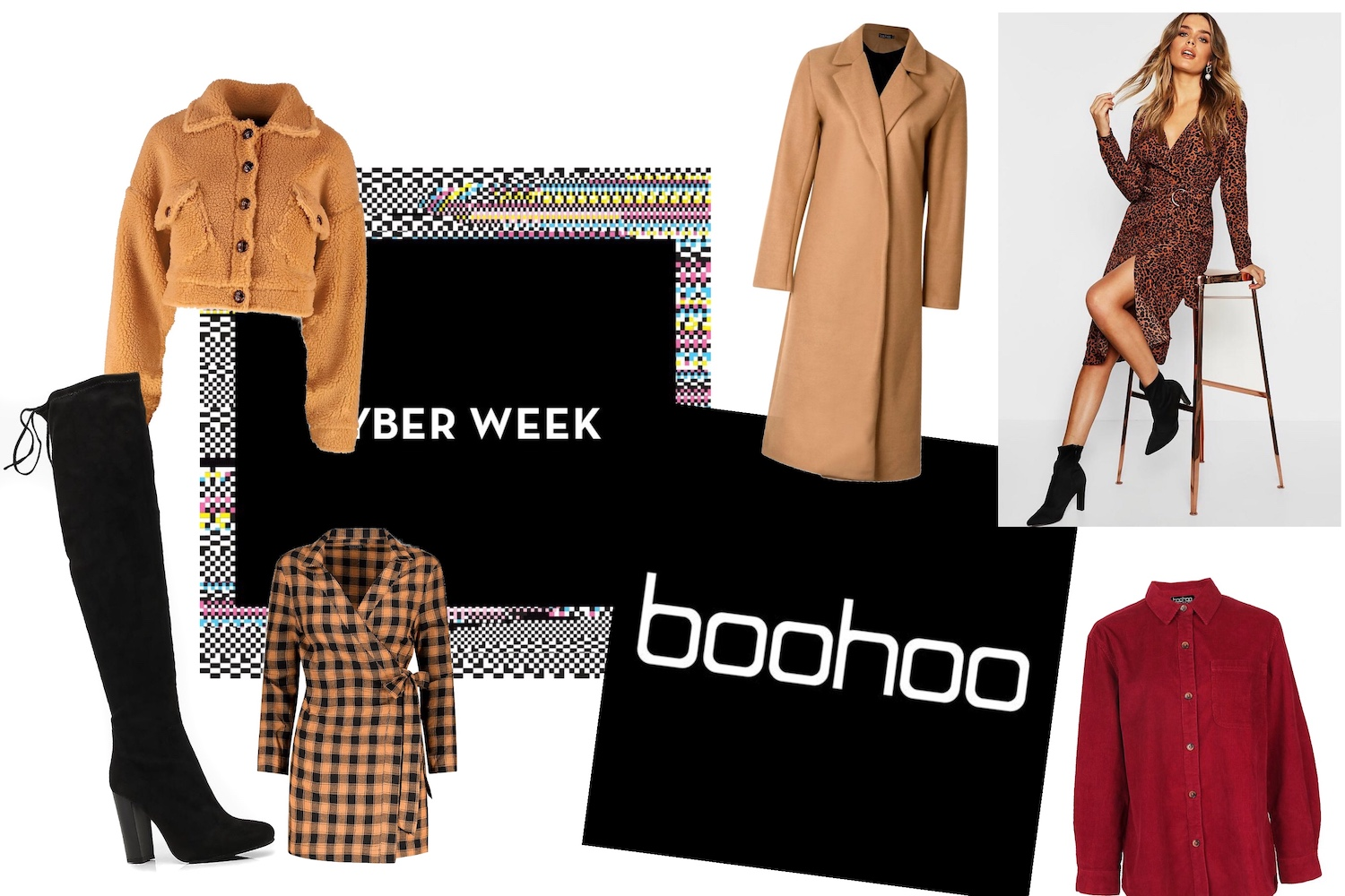 Big sélection Boohoo ** Cyber week