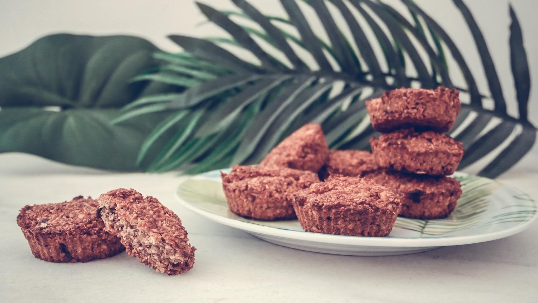 Biscuits banane et son d'avoine * gluten free / vegan