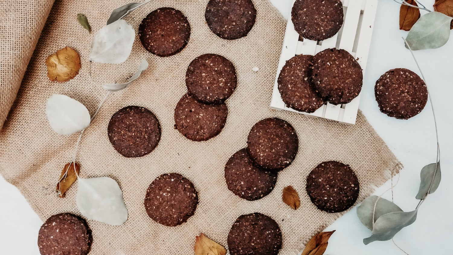 Biscuits  noisette (coco-cacao) * Vegan & gluten free