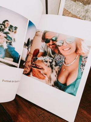 faire part, album photo et affiche atelier rosemood