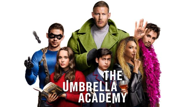 the umbrella academy, séries netflix