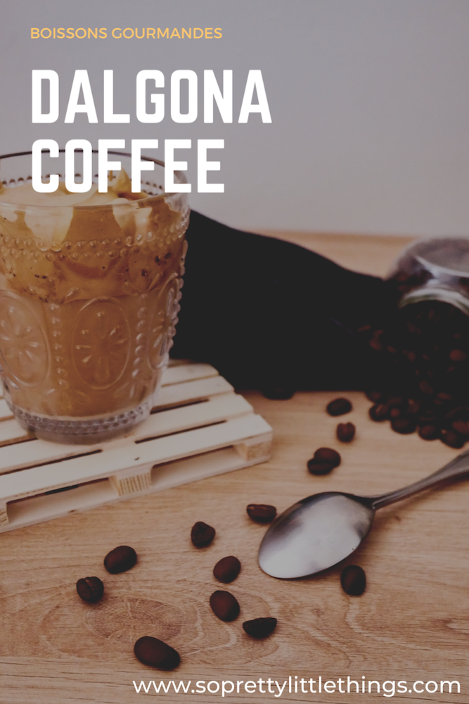 dalgona coffee, café frappé
