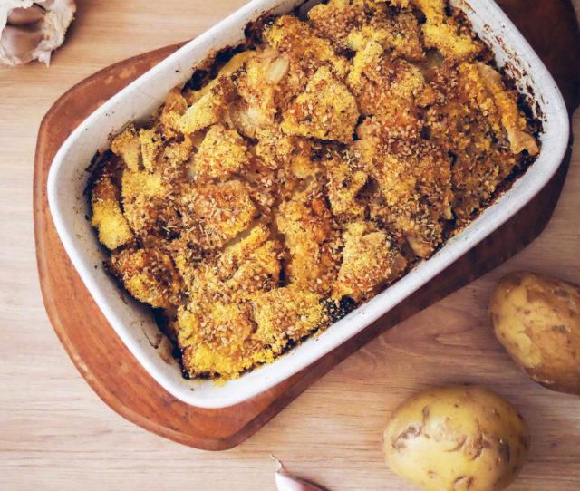 gratin celeri rave et pommes de terre