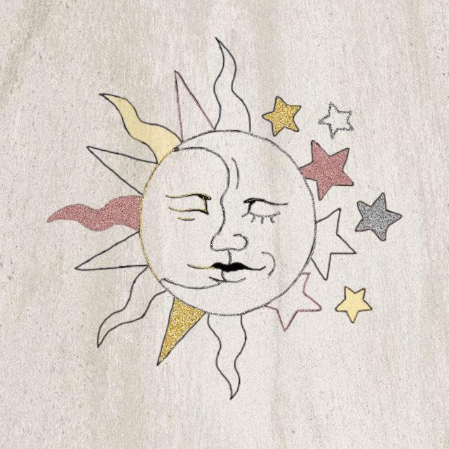 lune et soleil symboles